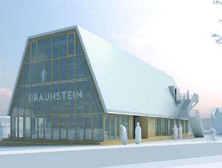 Braunstein bygger nyt samlingssted på kajen
